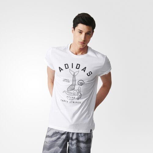 adidas - Hommes Mermaid Tee White S23477