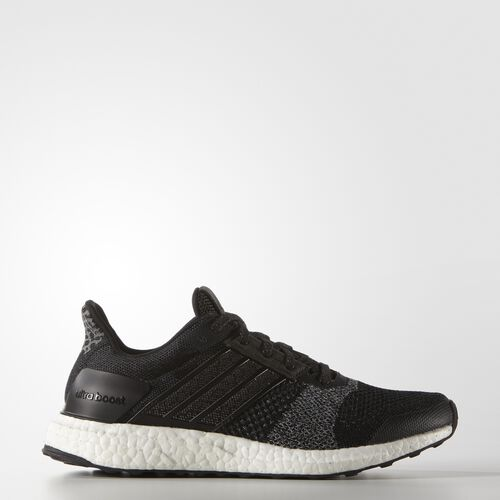 adidas - Women's Ultra Boost ST Glow Shoes Core Black / Silver Met. / Core Black AF6397