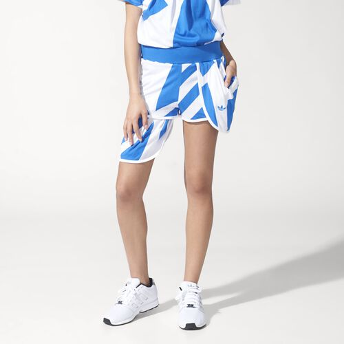 adidas - Femmes Couture Shorts White/Bluebird S19848