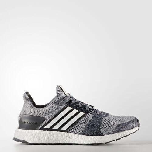 adidas - Zapatillas de running Ultra Boost Street Grey/Ftwr White/Core Red BA7839