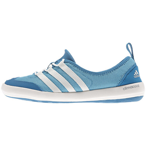 adidas - Femmes Climacool Boat Sleek Shoes Samba Blue / Chalk / Dark Solar Blue G97898