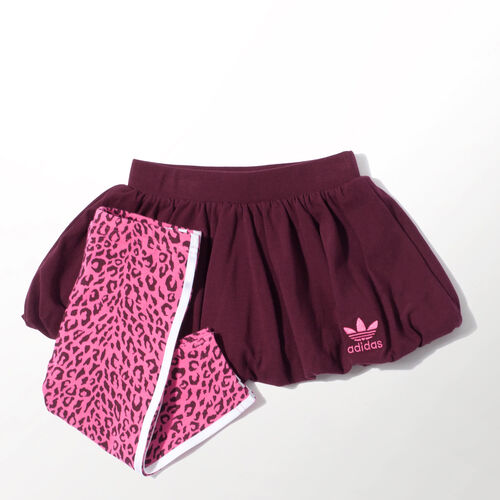 adidas - Bebes Cheetah Set Maroon / Pink M63382