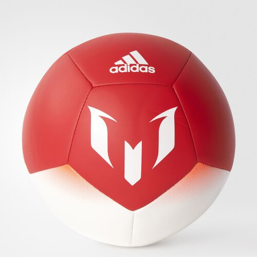 adidas - PELOTA DE FULTBOL MESSI Q1 MINI White/Red/Solar Red B31077
