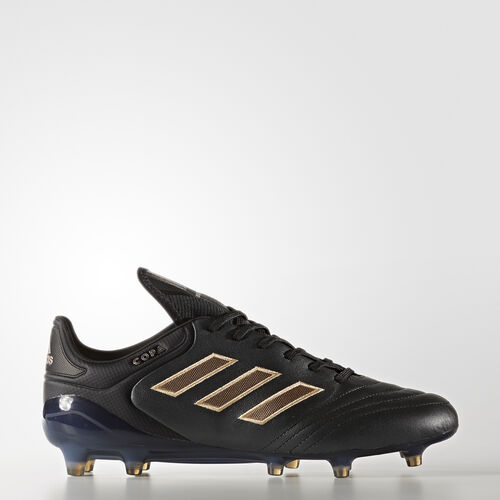 adidas - Copa 17.1 Firm Ground Cleats Core Black  /  Light Copper Metallic  /  Black BA8517