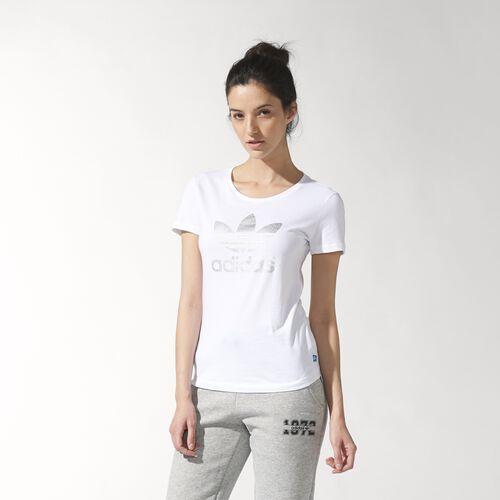 adidas - Women's Trefoil Tee White S19796