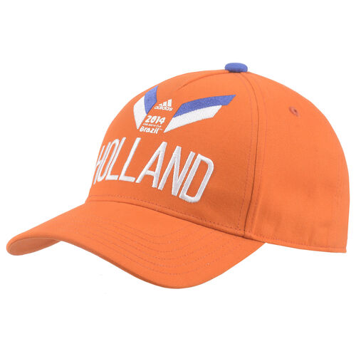 adidas - Holland Cap Orange / White / Cobalt D84397
