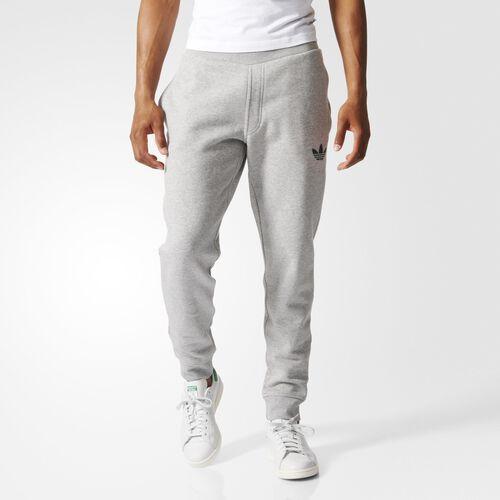 adidas - Hommes Fitted 2.0 Sweat Pants Medium Grey Heather AB7511