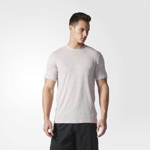 adidas - Hommes Basic Performance Tee Vapour Grey F16 AY1684