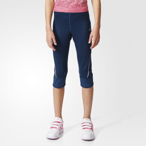 adidas - Enfants Running 3/4 Tight Blue/Reflective Silver AJ7369