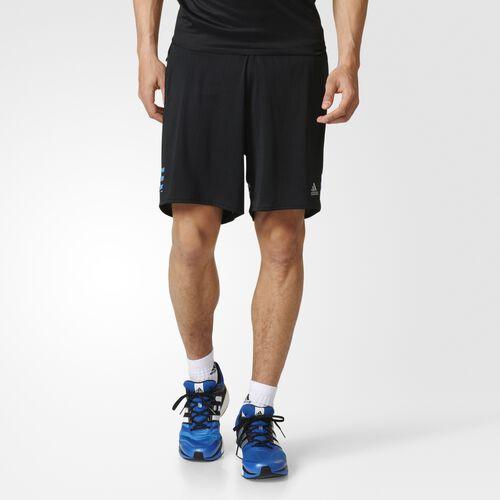 adidas - Hommes Response Dual Shorts Black/Ray Blue AX6491