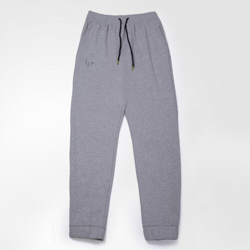 adidas - Men's Messi Sweat Pants Medium Grey Heather / Night Grey AB1382