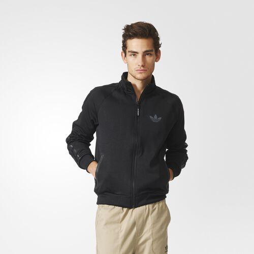 adidas - Men's Nite Jogger Track Jacket Black AB7770