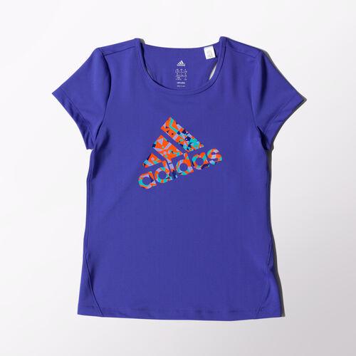 adidas - Kids Logo Tee Power Purple M67712