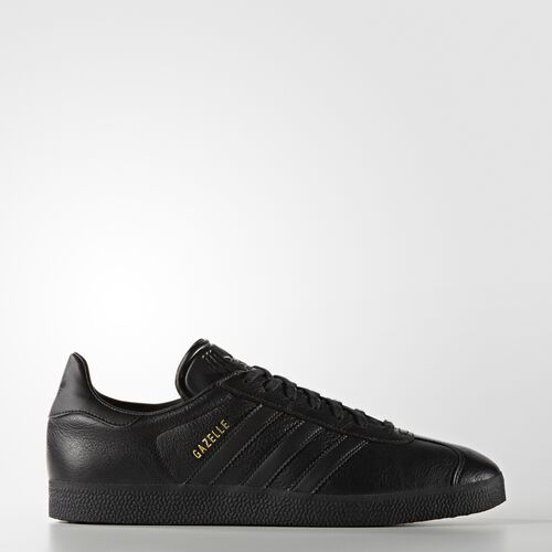 adidas - Hommes Gazelle Shoes Core Black/Core Black/Gold Met. BB5497