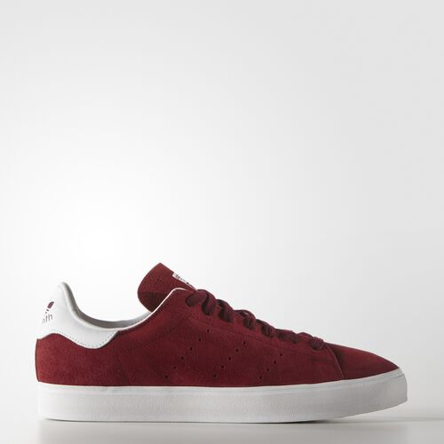 adidas - Hommes Stan Smith Vulc Shoes Collegiate Burgundy / Collegiate Burgundy / Ftwr White M17186