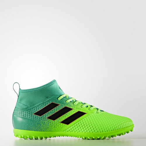 adidas - BOTINES DE FÚTBOL ACE 17.3 Primemesh Césped Artificial Solar Green/Core Black/Core Green BB5972