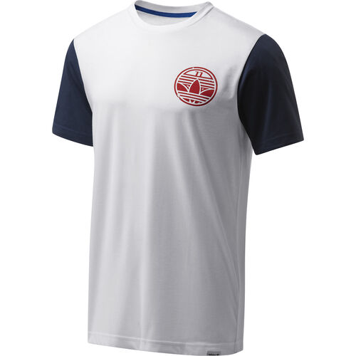 adidas - Hommes Graphic Tee White F80229