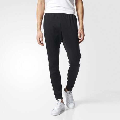 adidas - Hommes Superstar Cuffed Track Pants Black AJ6960