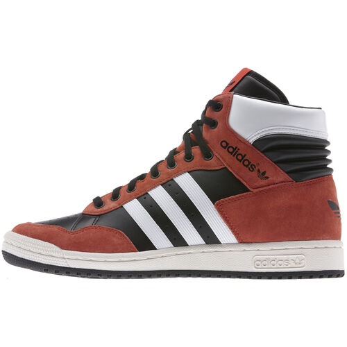 adidas - Hommes Pro Conference Hi Shoes Black / Running White / Hi-Res Orange G95983