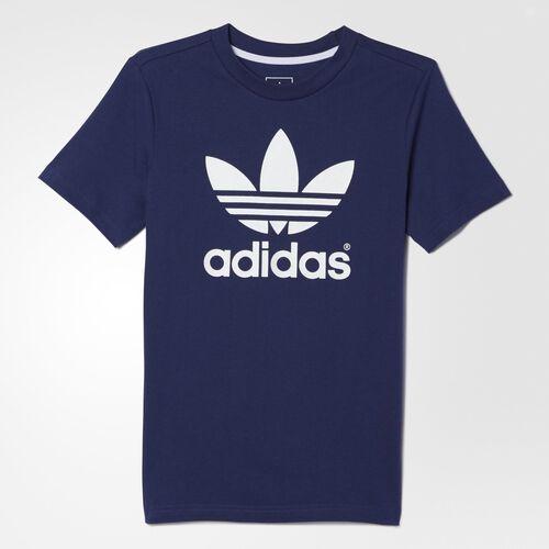 adidas - Youth Trefoil Tee Midnight Indigo  / White AB2210