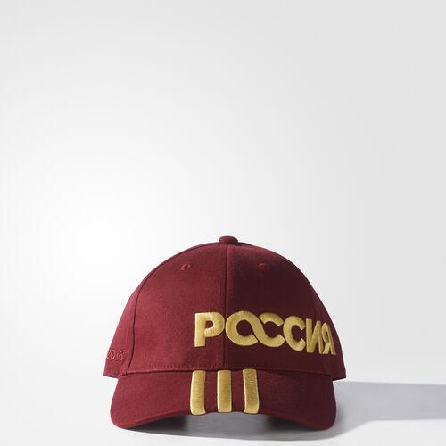 adidas - Russia 3-Stripes Cap CBURGU/PYRITE AJ4730