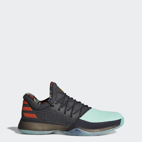 adidas - Harden Vol. 1 Shoes Core Black  /  Easy Green  /  Energy BW1573
