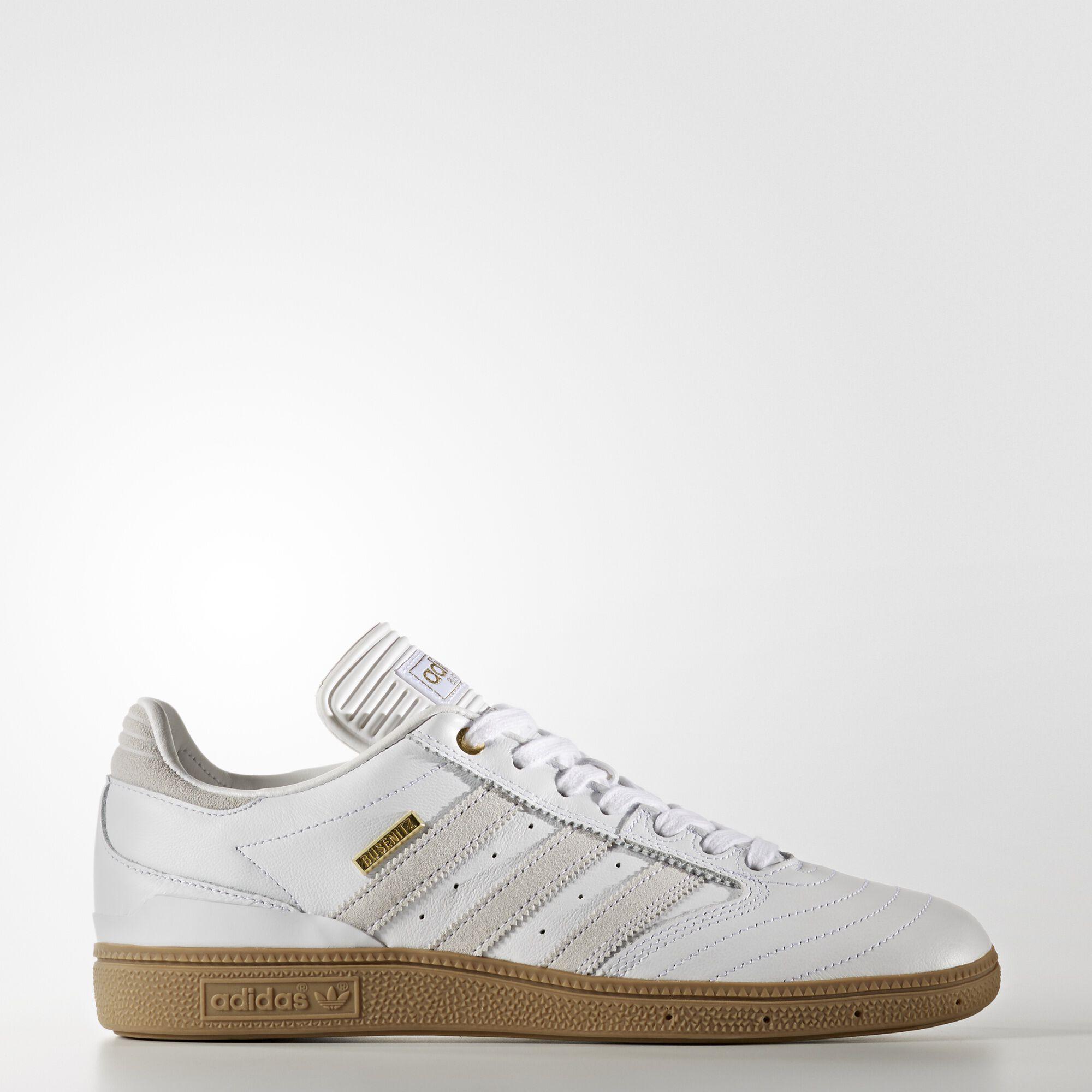 ... adidas - Busenitz Pro Shoes Running White   Running White   Gold  Metallic F37872 Women s ... 8fde647cb