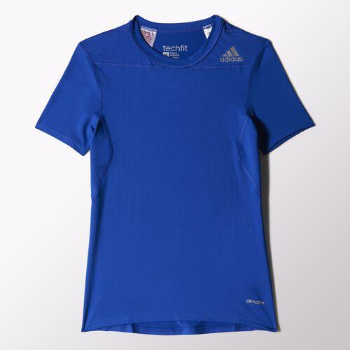 adidas - Enfants Techfit Base Tee Bold Blue S87536