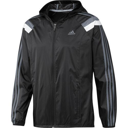adidas - Men's Anthem Jacket Black / Tech Grey D85763