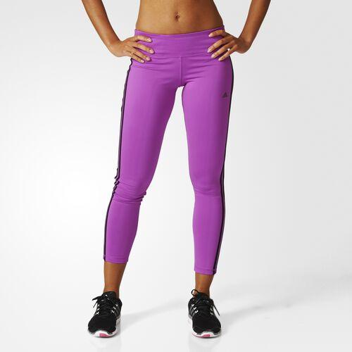 adidas - Femmes Basic 3-Stripes Long Tights Shock Purple F16 AY6249