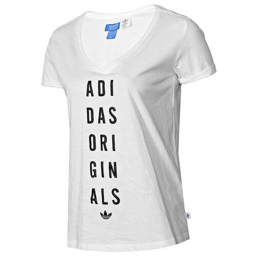 adidas - Femmes Spring Slogan Tee Running White F79350
