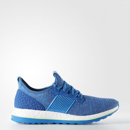 adidas - Hommes Pure Boost ZG Shoes Eqt Blue S16/Shock Blue S16/Solar Yellow AQ2929