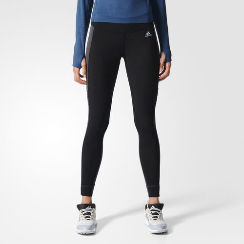 adidas - Femmes Sequencials Climaheat Tights Black / Utility Black F16 S93560