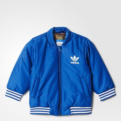 adidas - Bebes Basketball Jacket Blue/Multicolor/White AJ0227