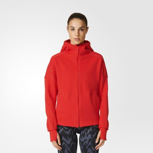 adidas - Women's adidas Z.N.E. Hoodie Ray Red AZ0199
