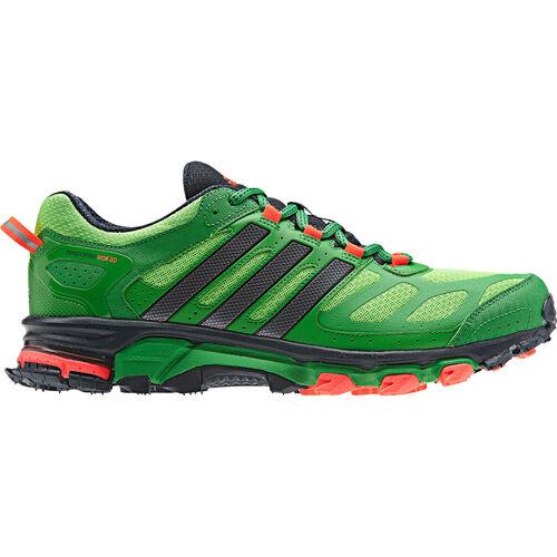 adidas - Hommes Response Trail 20 Shoes Ray Green / Real Green / Night Metallic Q21399