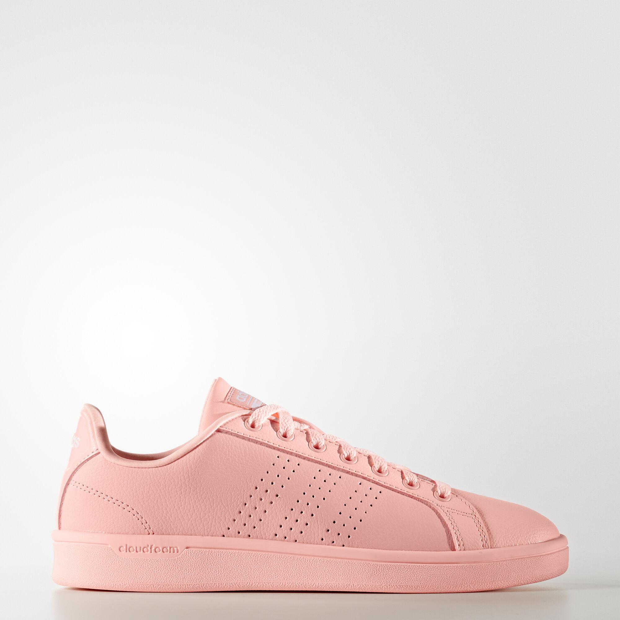 adidas neo rosa mujer