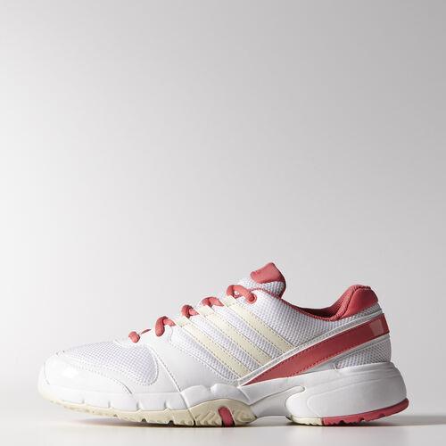 adidas - Women's Bercuda 3 Shoes White / Frost / Poppy Pink M19758