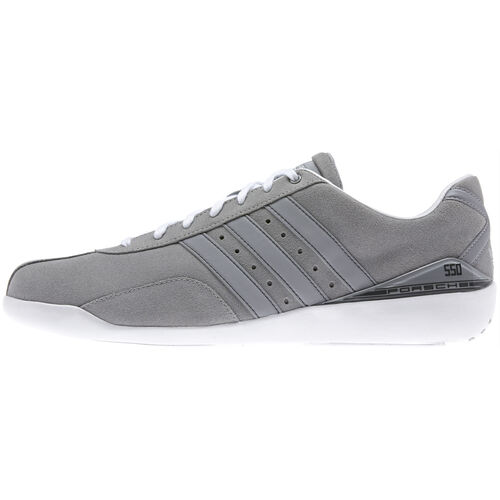 adidas - Hommes Porsche550 RS Shoes Mid Grey / Mid Grey / Running White F33005