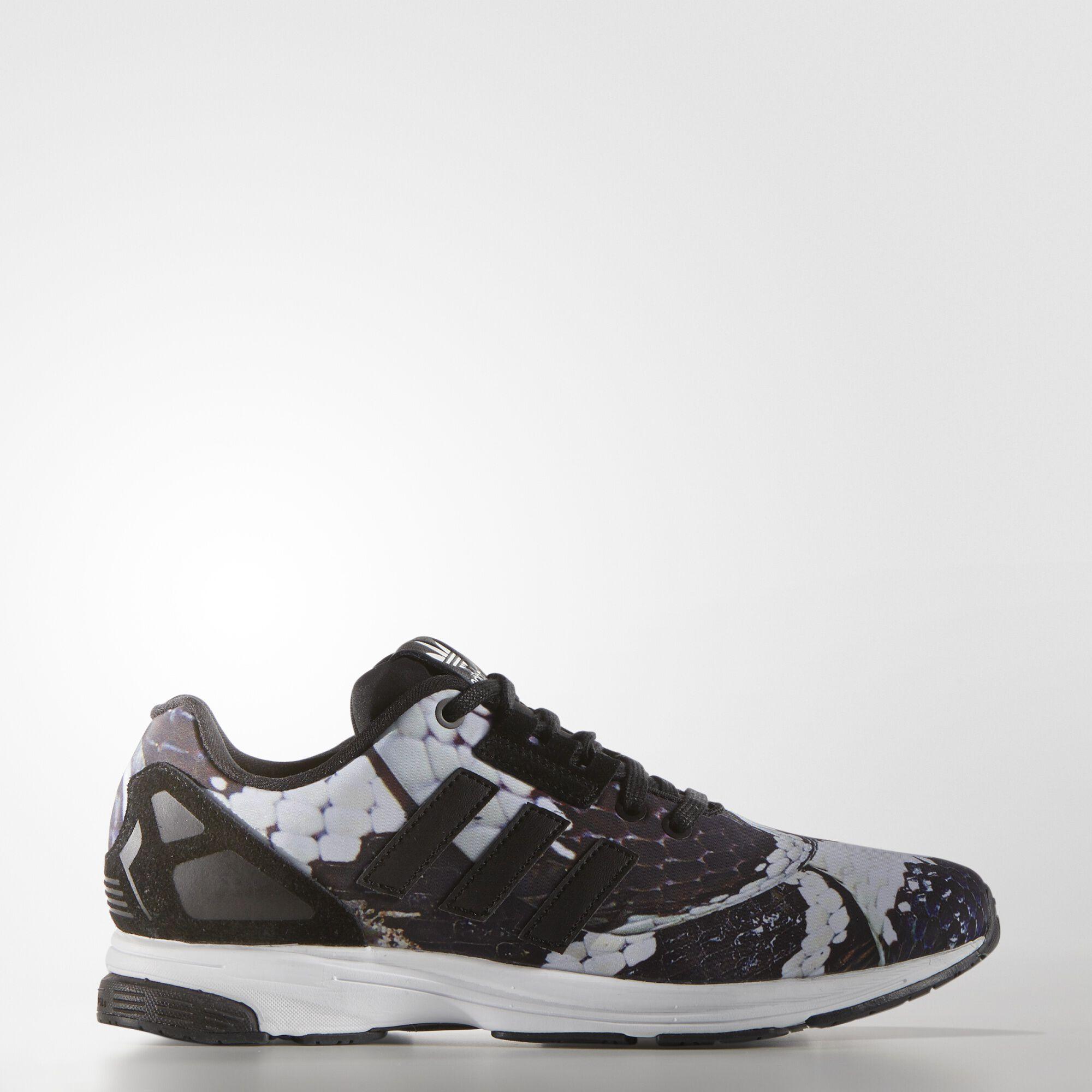 adidas , Zapatillas Originals ZX Flux Tech Mujer Core Black/Core Black/White S81526