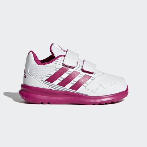 adidas - AltaRun CF I Running White  /  Bold Pink  /  Mid Grey BA9414