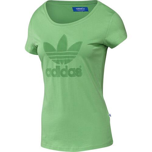 adidas - Femmes Trefoil Logo Tee St Tropic Green F78422