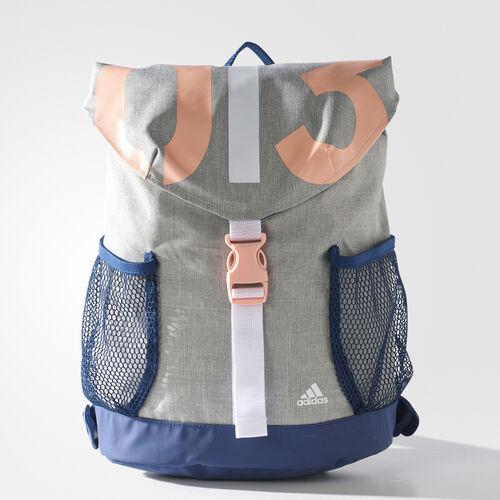 adidas - Mochila de training Medium Grey Heather/Mystery Blue /Haze Coral BS4206