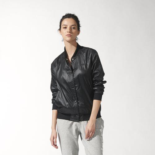 adidas - Women's Basic College Jacket Black S19834