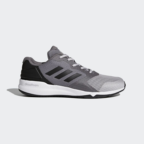 adidas - Tenis CrazyTrain 2 para Hombre GREY TWO F17/CORE BLACK/GREY FOUR F17 BY2516