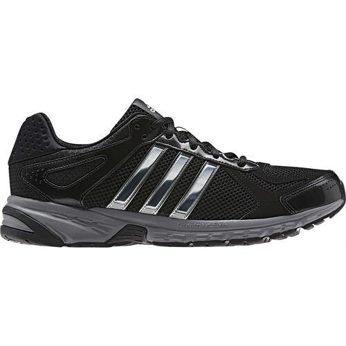 adidas - Hommes Duramo 5 Shoes Black / Tech Grey / Metallic Silver Q33523