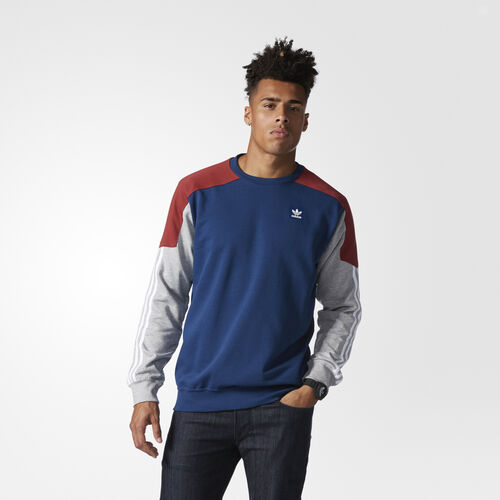 Men's Climalite Nautical Sweatshirt Adidas