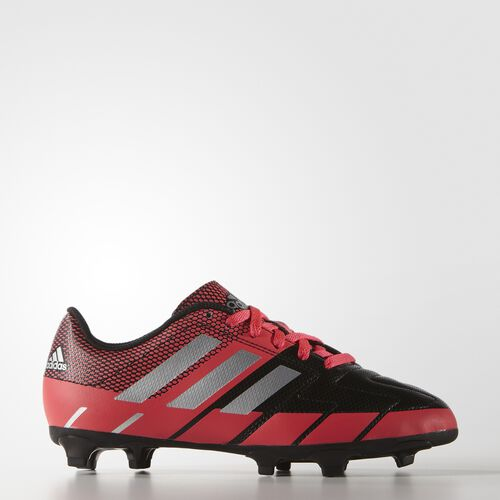 adidas - Kids Neoride III Firm Ground Shoes core black/matte silver/shock red s16 AF4950