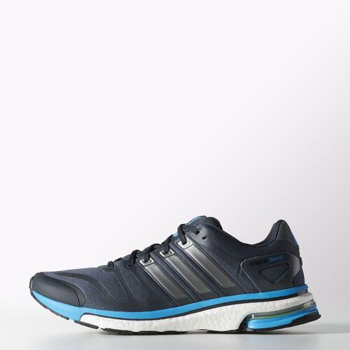 adidas - Men's adistar Boost Shoes Dark Onix / Neo Iron Met / Solar Blue F32289