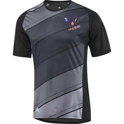 adidas - Men's adizero F50 Messi Training Jersey Black / Lead G72478
